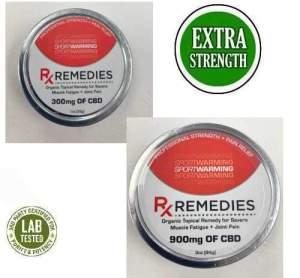 Rx Remedies Warming Balm 300mg or 900mg