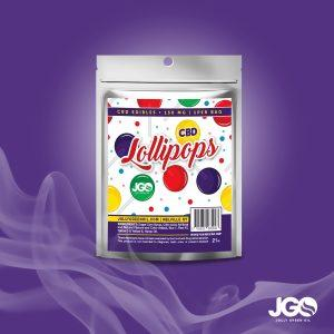 JGO CBD Lollipops - Assorted Flavors 150mg