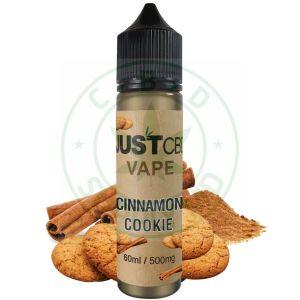 JustCBD Vape Juice – Cinnamon Sugar Cookies 500mg