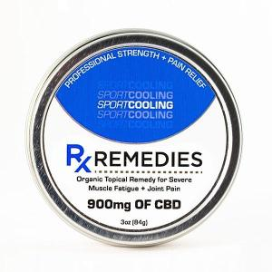 Rx Remedies CBD Cooling Balm 300mg & 900mg
