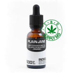 CBD Plain Jane in Indica - Relaxing 1500mg