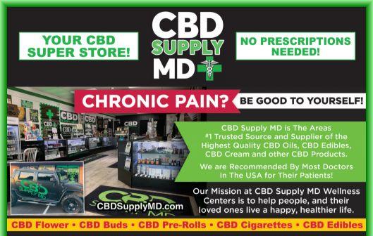 CBD Oil Supply MD CBD Store -Local CBD Oil Shop