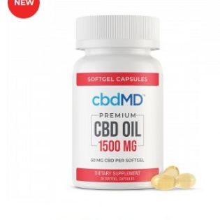 CBD Oil Softgel Capsules