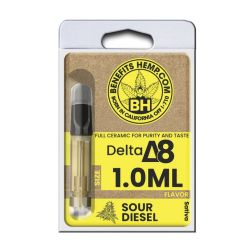 Delta8 Cartridge 1000mg Sour Diesel