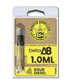 Delta8 Cartridge 1000mg Sour Diesel