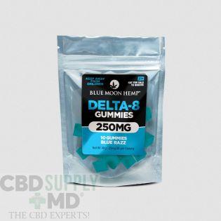 Blue Moon Hemp Delta 8 Gummies-Blue Razz