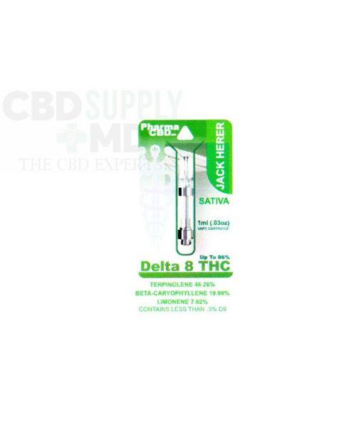 Delta 8 Vape Cart Jack Herer 1ml 96% THC
