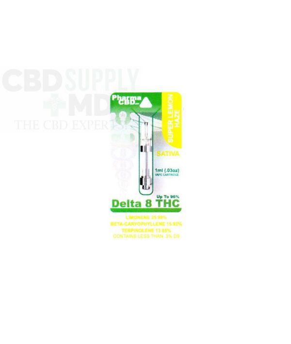 Delta 8 Vape Cart Super Lemon Haze 1ml 96% THC