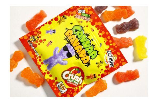 DELTA-8 Sour Pals Crush Fruit Mix