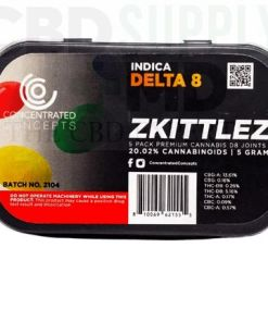 Zkittles D8 Wrapped Pre-Roll (5 Pack)