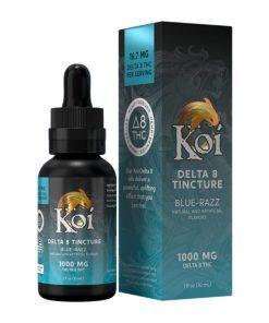Koi Delta 8 THC Tincture Oil – Blue Razz 1000mg