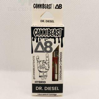 Cannibeast Delta 8 Cartridge 1000MG Dr. Diesel Hybrid