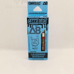 Cannibeast Delta 8 Cartridge 1000MG Laughing Buddah Sativa