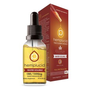 20% off Hemplucid Water Soluble CBD