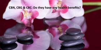CBN. CBC. & CBG: Benefits of the lesser known cannabinoids