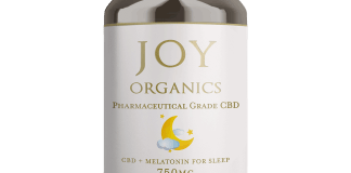 CBD + Melatonine For Sleep Softgels Having trouble sleeping? Restore relaxation with Joy Organics 'CBD + Melatonin for Sleep' softgels