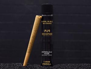 Claim your $1 Honolulu Haze hemp pre-rolled