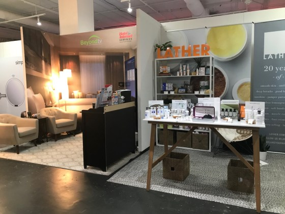 BeyondTV and Lather Booths at Stay Boutique Live