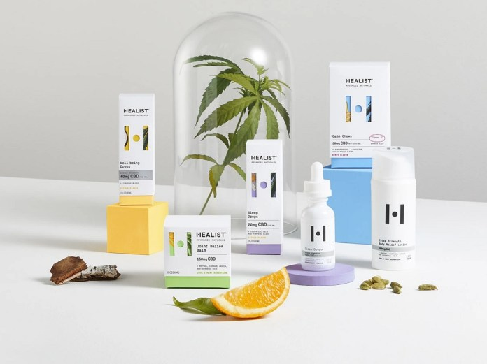 Healist Advanced Naturals-product collection-press release-CBD-CBDToday