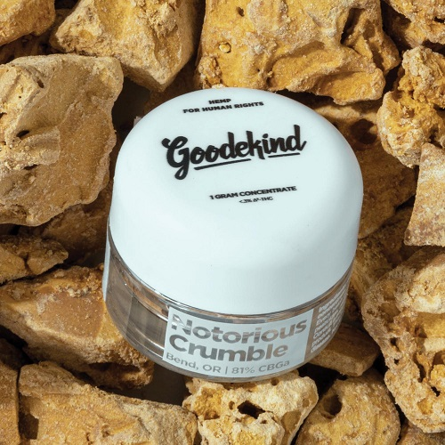Goodekind Notorious Crumble-CBD products Gift Guide-CBDToday