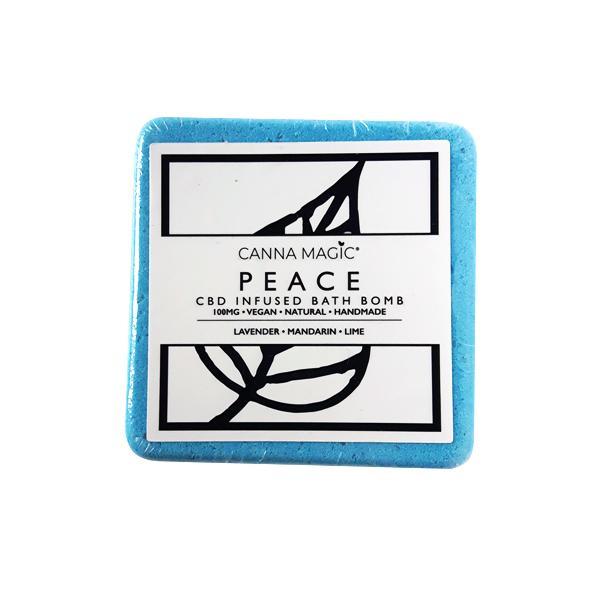 Canna Magic CBD Bath Bombs Peace