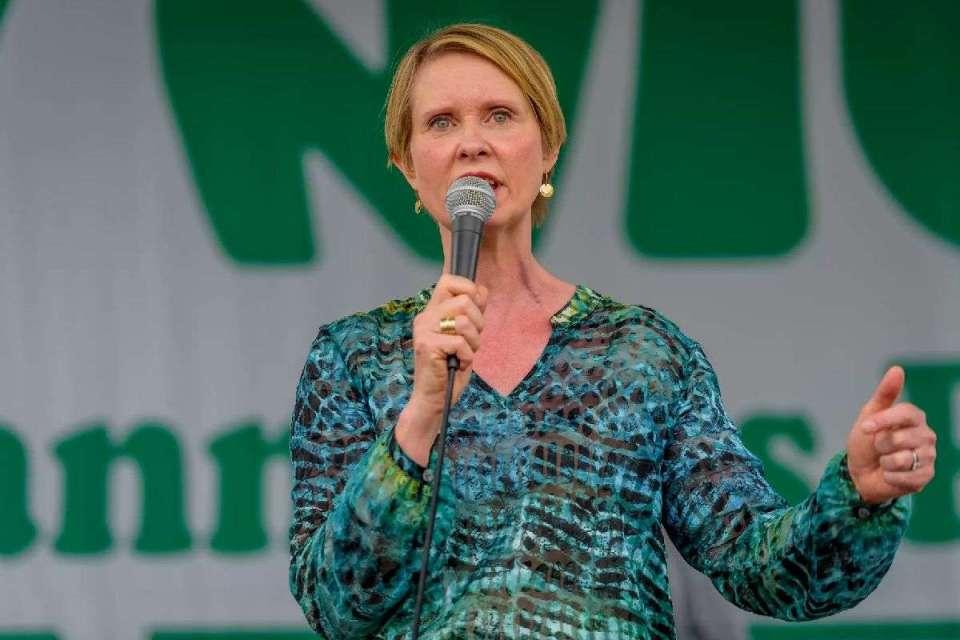 Cynthia Nixon to Legalize Marijuana in NY