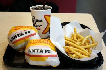 Carls Jr. CBD Infused Burger