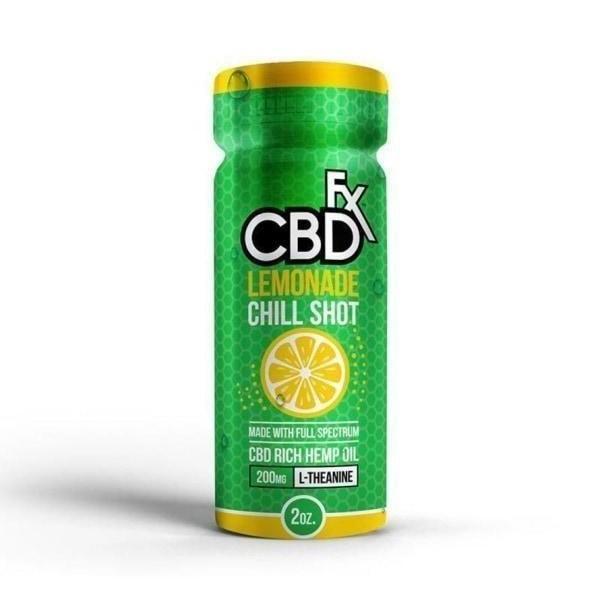 CBDfx Drink - Lemonade CBD Chill Shot 20mg