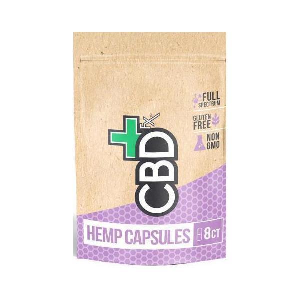 CBDFx 200mg CBD Capsules - 8ct Pouch