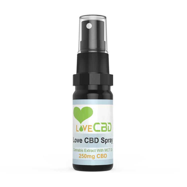 Love CBD Spray – 250mg / 20ml