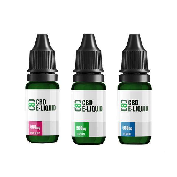 CBD Asylum 500mg CBD E-liquid 10ml