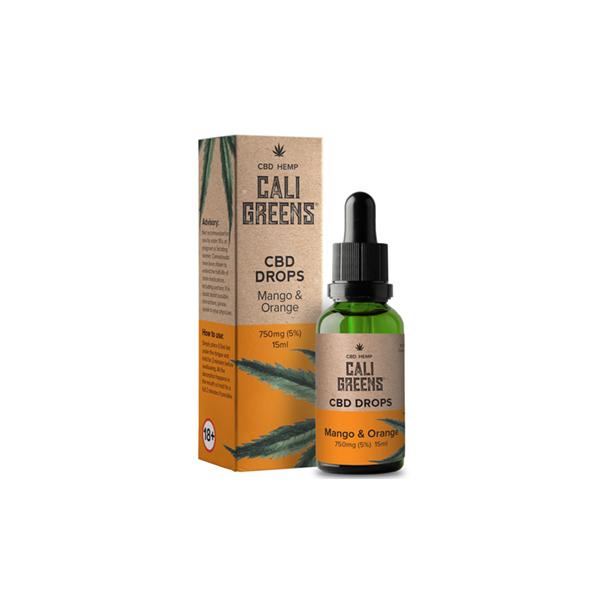 Cali Greens CBD Tincture - Mango & Orange