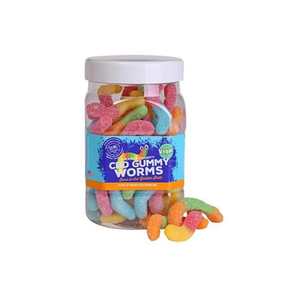 CBD Gummy Worms - Vegan