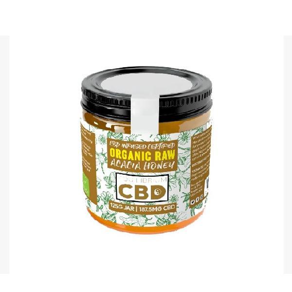 CBD Honey | Organic Raw | 125g/185mg of CBD