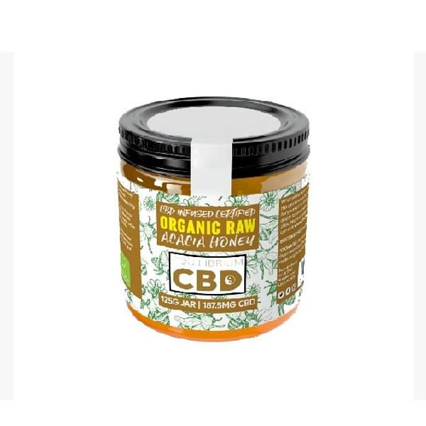 CBD Honey | Organic Raw | 125g/185mg of CBD
