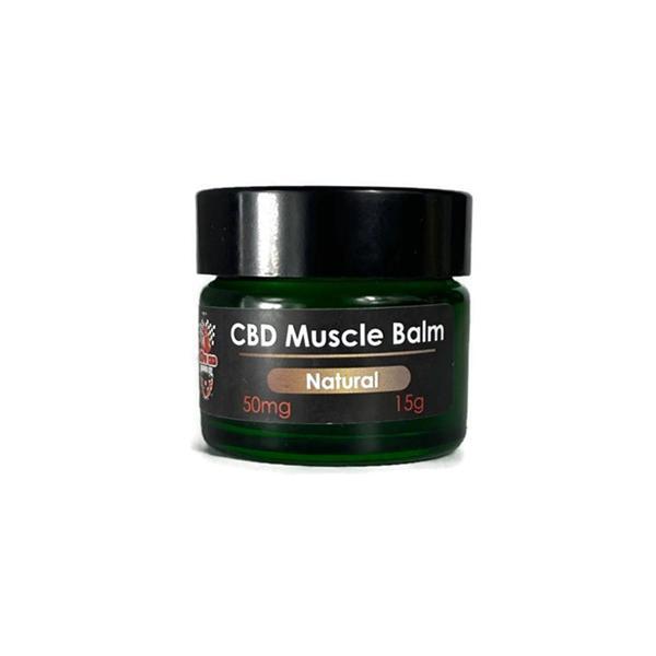 CBD Muscle Balm Natural 50mg 15g CBD