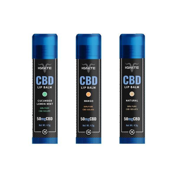 Ignite CBD | Lip Balm | 50mg CBD