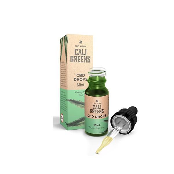 Cali Greens CBD Tincture - Mint