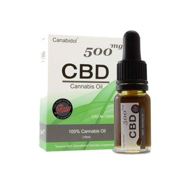 Cannabidol 500mg CBD Tincture