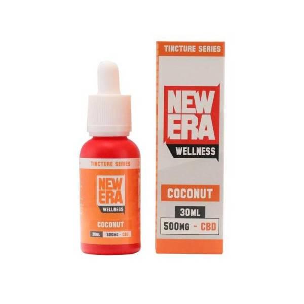 New Era Wellness CBD 500mg 30ml Coconut