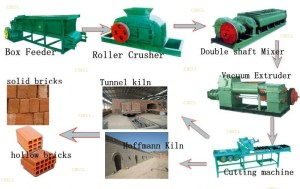Auto Bricks Making Machine + Hoffman Kiln+ Tunnel Dryer