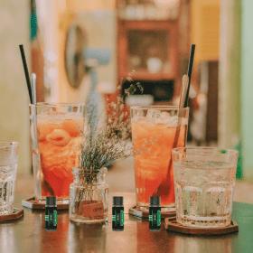 Drinks with CBeerD CBD Cocktail Mixers