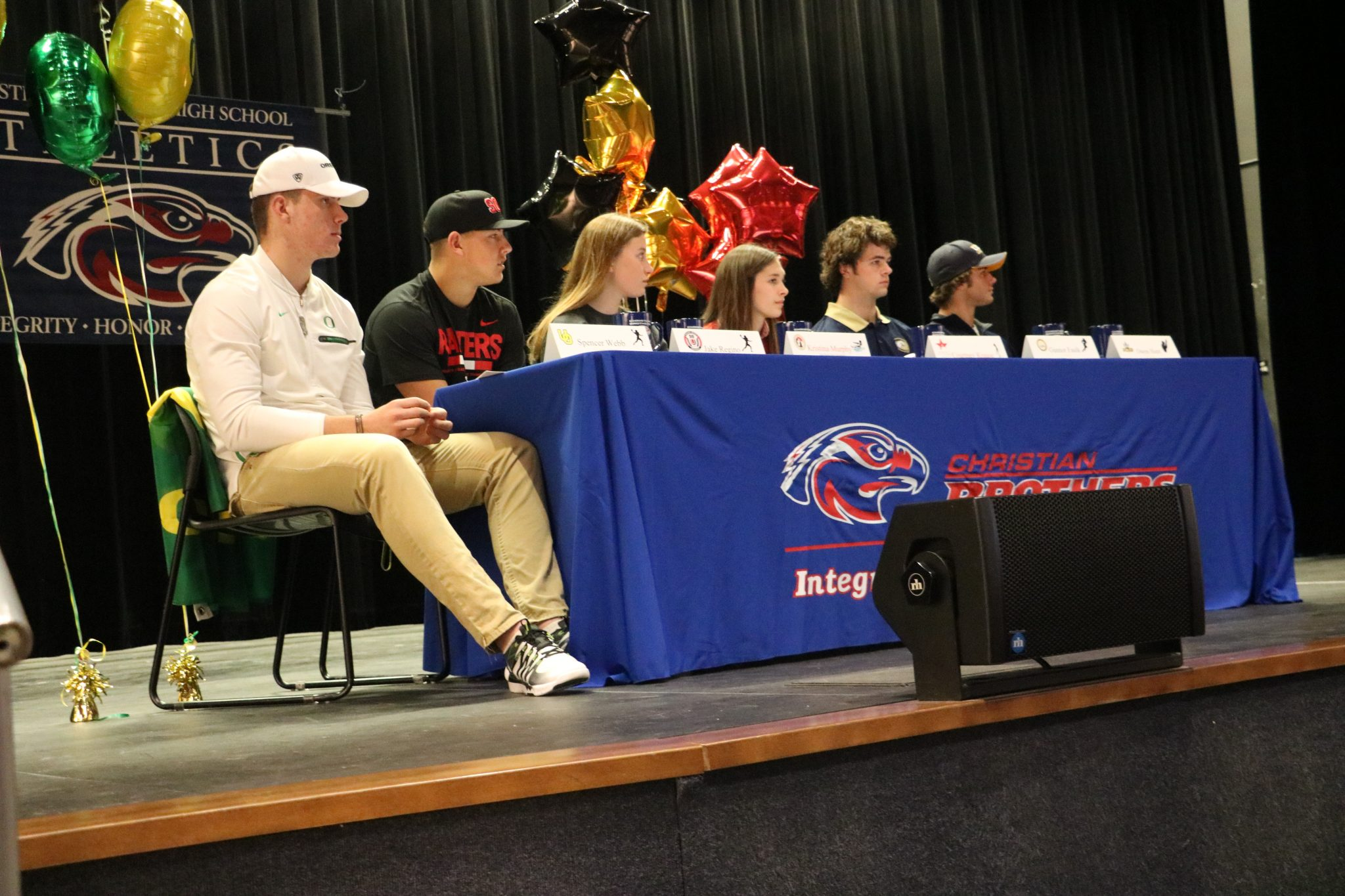 A Day to Remember: Six CB Student Athletes Sign National Letters of Intent