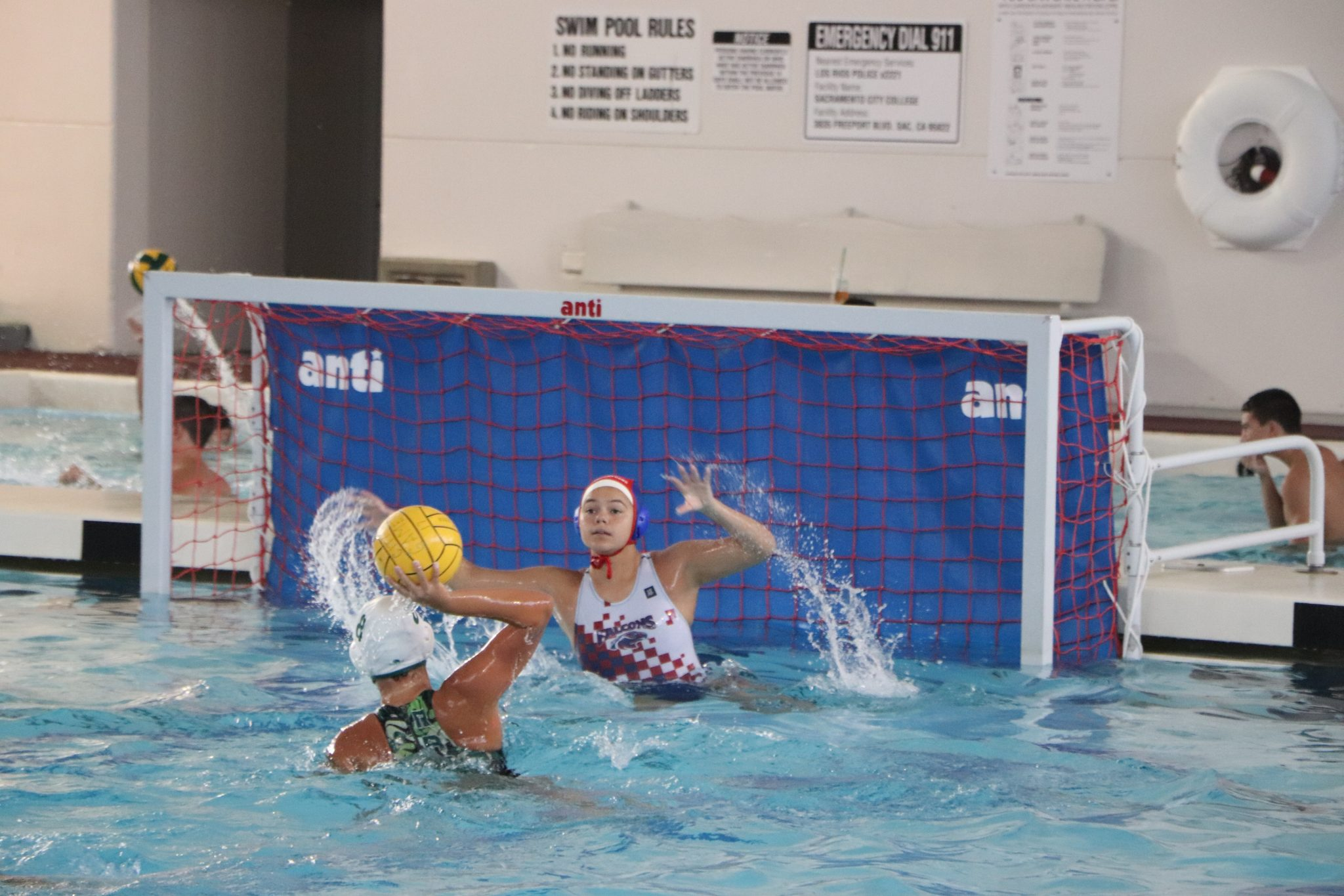 Women's Water Polo Faces Tough Start To Season