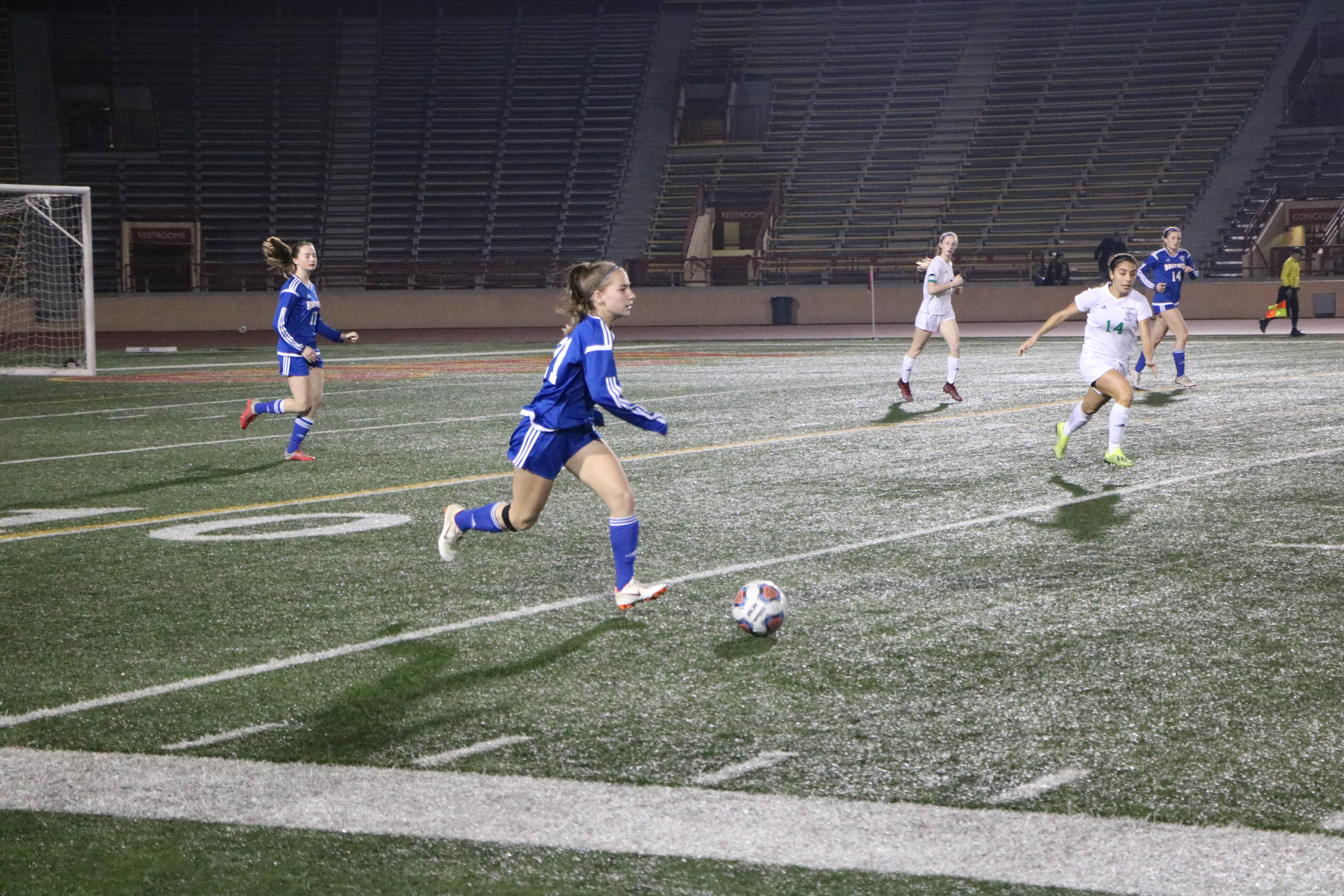 Women's Soccer Falls In A Hard Fought Game Against The El Camino Eagles