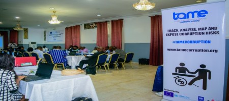 Participants at the roundtable event with Vice Chancellors and other stakeholders.