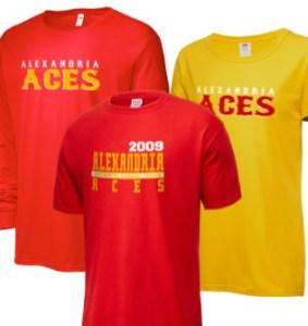 Alexandria Aces Continental Baseball League Merchandise