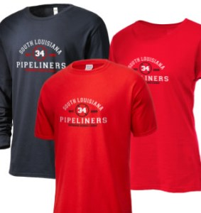 South Louisiana Pipeliners Merchandise T-shirts