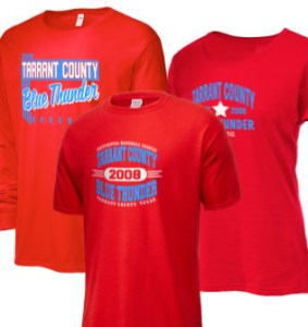 Tarrant County Blue Thunder CBL Merchandise