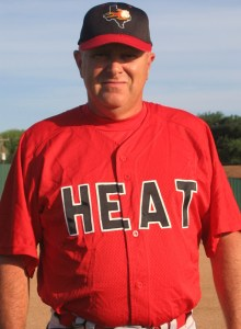 Royce Holder Manager 2007 CBL Texas Heat Independent Pro Baseball